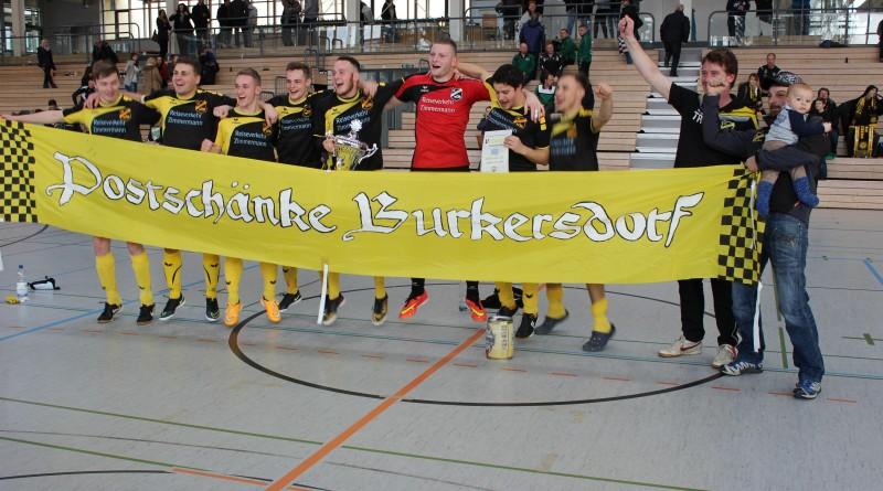 Mittelsachsencup: Postschänke Burkersdorf schnappt sich den Siegerpokal