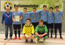 Futsalmeister B-Junioren: SpG Falkenau/Oederan/Breitenau