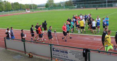 Lauftest für die Schiedsrichter in Flöha