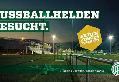 DFB-Aktion Ehrenamt  – Ehrenamtspreis 2017  und  Fußballhelden 2017–Aktion junges Ehrenamt