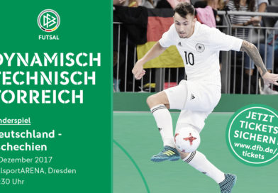 Futsal-Länderspiel in Dresden