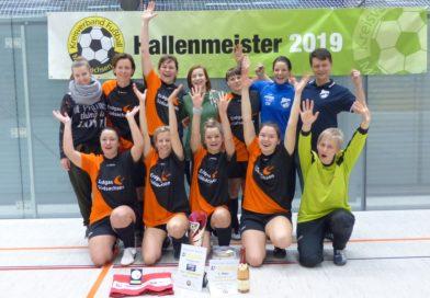 Damen der SpG.Auerswalde/Sachsenburg gewinnen den Hallentitel 2019