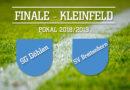 Pokalfinale im Kleinfeld in Döhlen