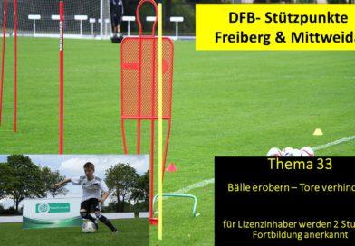 Fortbildung am DFB-Stützpunkt