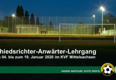 Schiedsrichter-Anwärter-Lehrgang Januar 2020