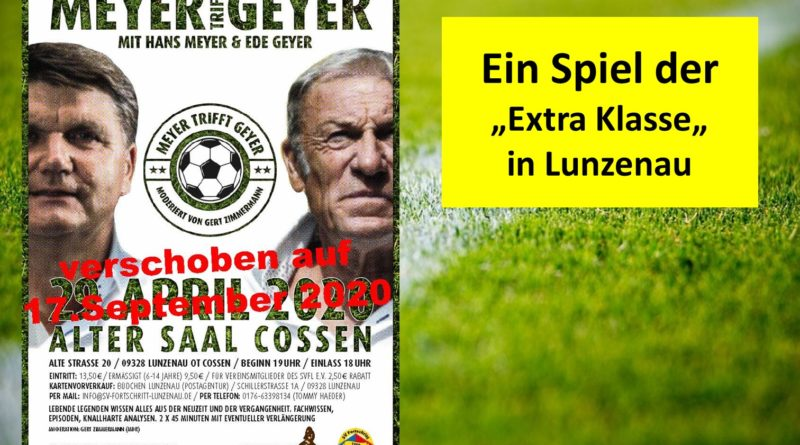 Fußballtalk in Lunzenau